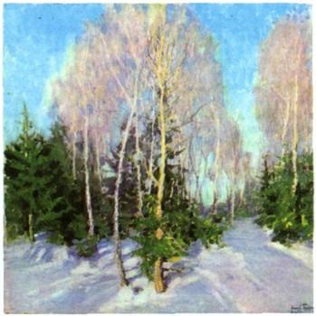 сочинение по картине зимний пейзаж и э грабарь
