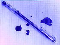 Как вывести пасту шариковой ручки с бумаги
