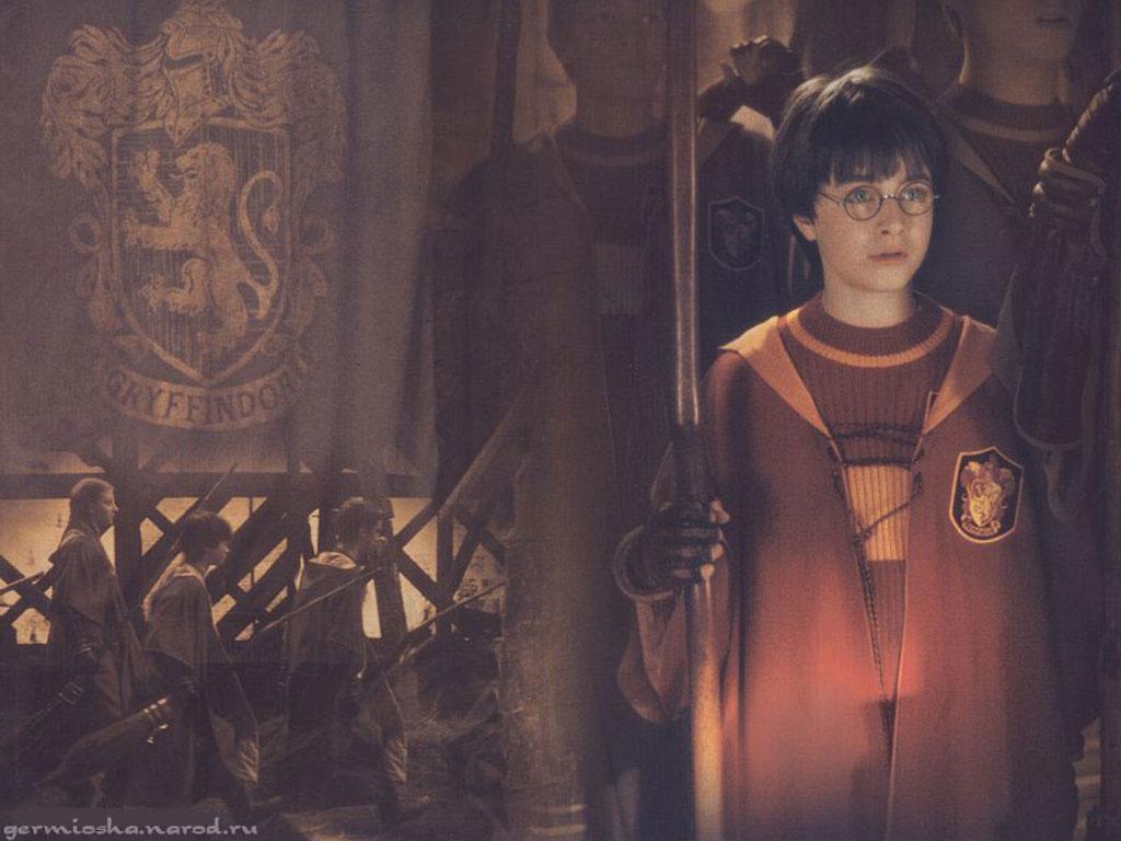 Гарри Поттер замок Косом переулке мастер 3D окно стены стикер постер комната z684